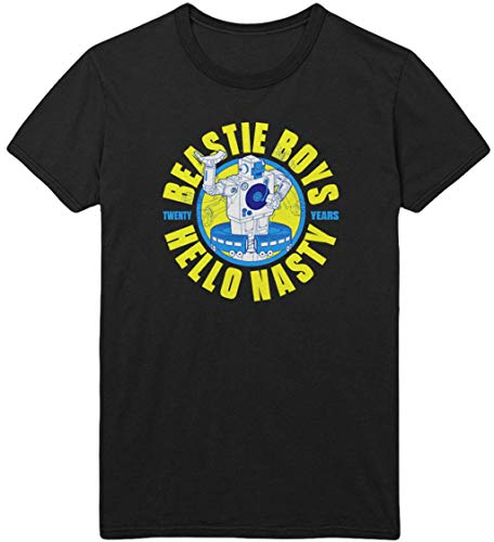 Beastie Boys 'Hello Nasty 20 Years' (Black) T-Shirt (medium)