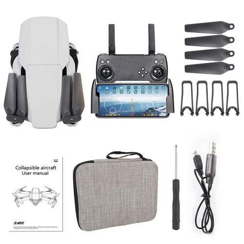 Drone Remote Control - Quadricottero video 4K HD con telecamera singola doppia con ritorno automatico mantenimento altezza e percorso di volo | Adatto per principianti
