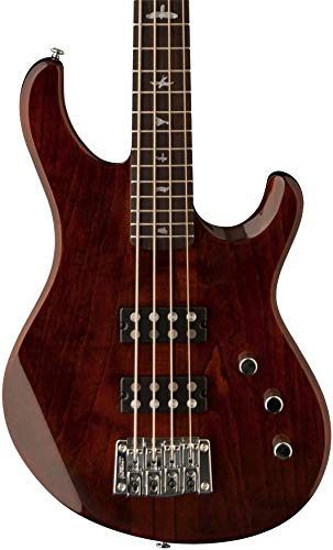 PRS Paul Reed Smith SE Kingfisher 4-String Bass Guitar with Gig Bag, Tortoise Shell