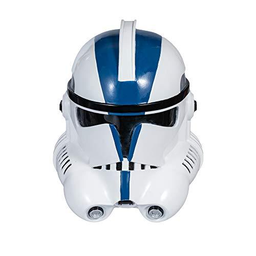 X-COSTUME Stormtrooper Helm, Phase 2 Clone Trooper Maske skaliert Helm Modern Blau...