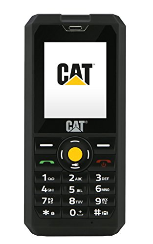 CAT B30 Outdoor Handy (5,1 cm (2 Zoll) TFT QVGA Display, 2 Megapixel Kamera) sehr robust , schwarz