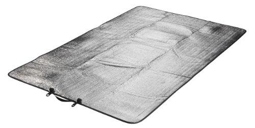 GRAND CANYON colchoneta doble con aluminio - colchoneta aislante con aluminio, colchoneta térmica, 190 x 120 cm, 305003