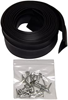 Auto Care Products Inc 57020 20-Feet Nail-On Garage Door Bottom Seal with Nails