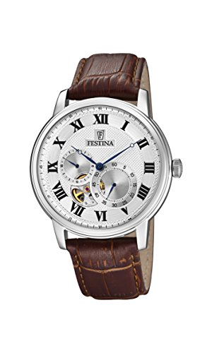 Festina Unisex Erwachsene Digital Automatik Uhr mit Leder Armband F6858/1