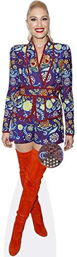 Celebrity Cutouts Gwen Stefani (Orange Boots) Pappaufsteller lebensgross