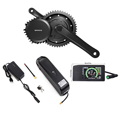 Bafang BBSHD 1000W Mid Drive Electric Bike Motor Ebike Conversion Kits LCD Display With Lithium Battery