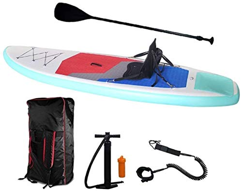 Woodtree Tabla de Surf 320X80X15CM Inflable Stand Up Paddle Board Kayak de...