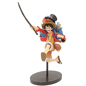 Anime Figure One Piece Monkey D Luffy Backpack Running Action Figurine PVC Model Commemorative Classic Collection Ornaments 20cm