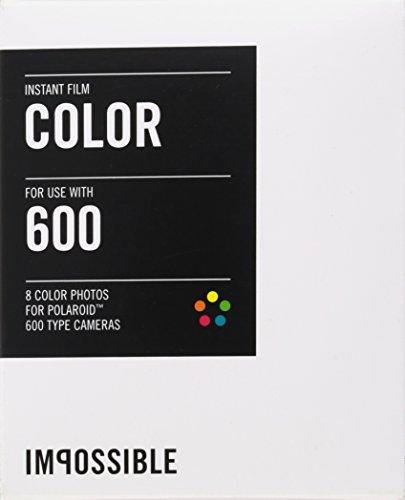 Impossible 2785 Sofortbildfilm für Polaroid 600 Kamera (Color, 8-Aufnahmen)