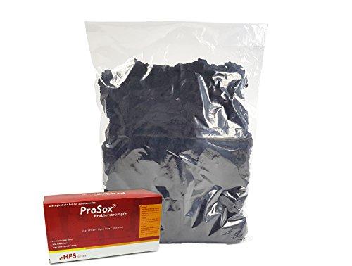 Kunststofftechnik Vlotho - Das Original! ProSox Probierstrümpfe Nachfüllbeutel, 10DEN, schwarz 500 Stück inkl. kostenloser Spenderbox