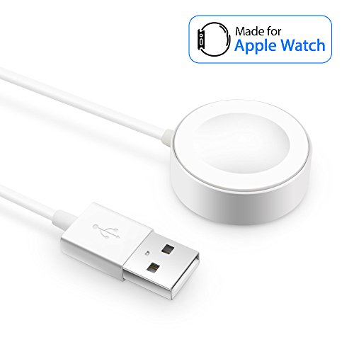 Apple Watch caricabatterie, cavo di ricarica per Apple Watch/iWatch, magnetico wireless caricatore USB di ricarica per Apple Watch Series 1/2/3/Nike +/Edition