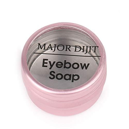 Savon à sourcils, 3D Feathery Shampooing Shampooing Savon Shaping Shampoo Gel Savon Baume de maquillage plumeux imperméable longue durée pour les sourcils naturels, Baume de maquillage Feathery Brows