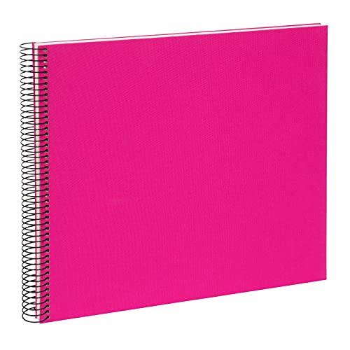 goldbuch 25364 Spiralalbum Bella Vista, Foto Album 35 x 30 cm, Fotoalbum mit 40 weiße Seiten,...