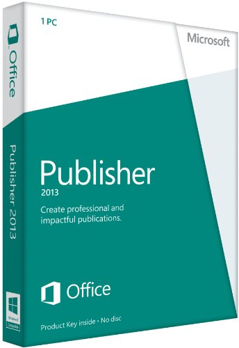 Publisher 2013 - 1 User (licence card) [import anglais]