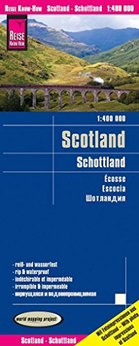 Reise Know-How Landkarte Schottland (1:400.000): world mapping project, reiß- und wasserfest