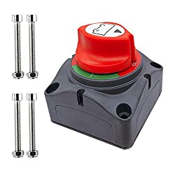 in budget affordable Battery disconnector, 12-48V power switch, main switch, vehicle disconnector, …