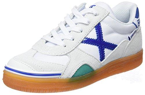 Munich Gresca, Zapatillas de Deporte Unisex Niños, Multicolor (Blanco), 33 EU