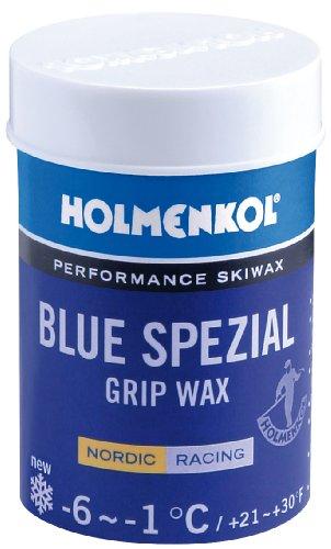 Holmenkol Cire d'escalade pour Adulte - Bleu spécial - 45 g