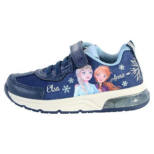 Geox Spaceclub - Zapatillas deportivas para niño, Azul (Ciel Marine), 32 EU