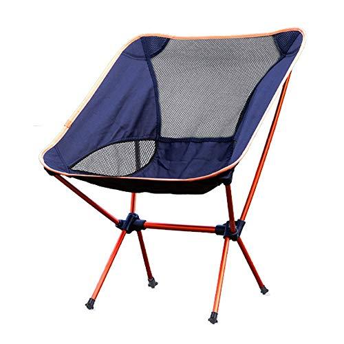 Sedia Campeggio Alluminio Leggera Sedia Campeggio Sedia Portatile per Pesca/Campeggio/Trekking