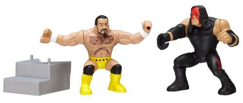 WWE – Power Slammers – CM Punk & Kane – 2 Figurines Mécanique