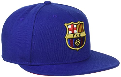Nike FC Barcelona True Core Visor, Blau (Navy 686241-455), One Size