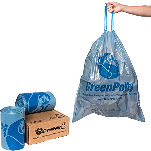 Product Image of the GreenPolly Blue Trash Bags