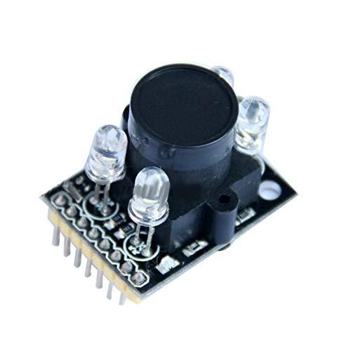 XJF Sensor de módulo de reconocimiento de color TCS230 TCS3200D con lente gran angular