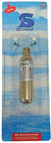Secumar Ersatzpatronen CO² (Automatik) SECUMATIC 3001S, Variante:43g