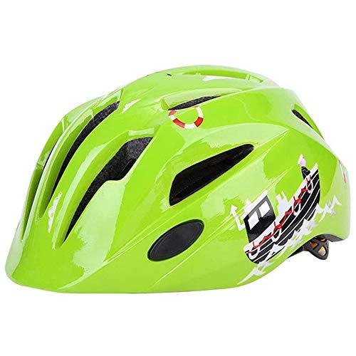 TRGCJGH Casco De Bicicleta para Niños Casco Multideportivo Equipo De Protección Casco...