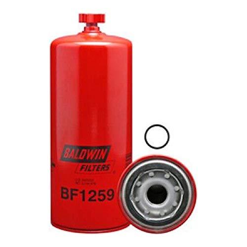 BALDWIN FILTER BF1259, Benzin/Wasserabscheider Aufziehen mit Abfluss