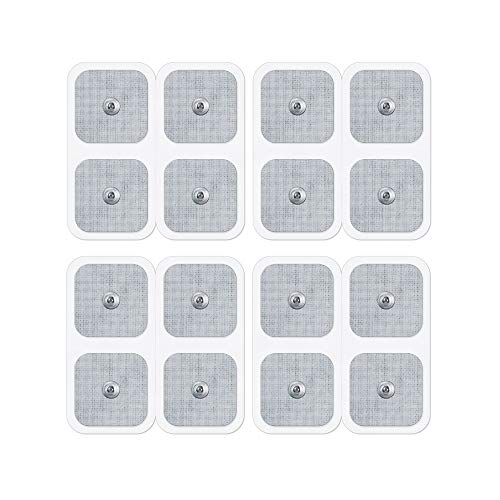 Beurer & Sanitas Elektroden-Nachkaufset, bestehend aus 16 selbstklebenden Gel-Pads 45 x 45 mm, passend für EMS- und TENS-Geräte von Beurer und Sanitas