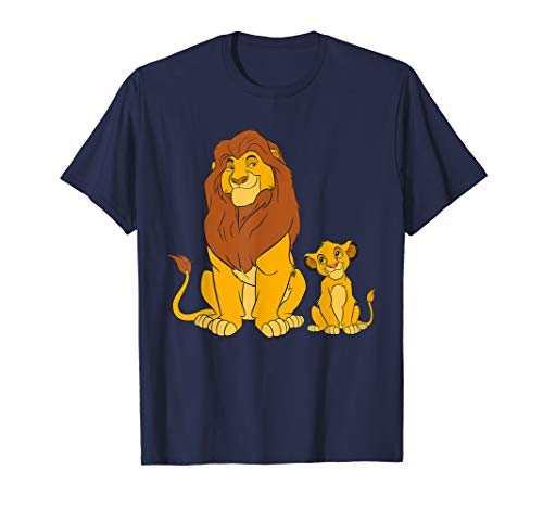Disney The Lion King Young Simba and Mufasa T-Shirt