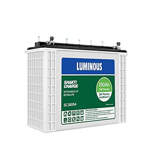 Luminous SC 18054 150 Ah Tubular Inverter Battery