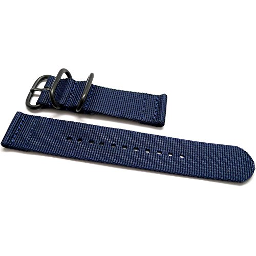Daluca due pezzi in nylon balistico cinturino nato–navy (fibbia PVD):...