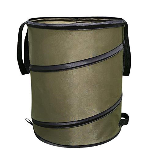 自立式 ガーデンバケツ 集草バッグ 折り畳み ガーデンバッグ ガーデンバケツ 再利用可能 丈夫 超大容量 庭園 防水 ゴミ袋 ハンドル付き 収納専用バッグ 集草バッグ 園芸用