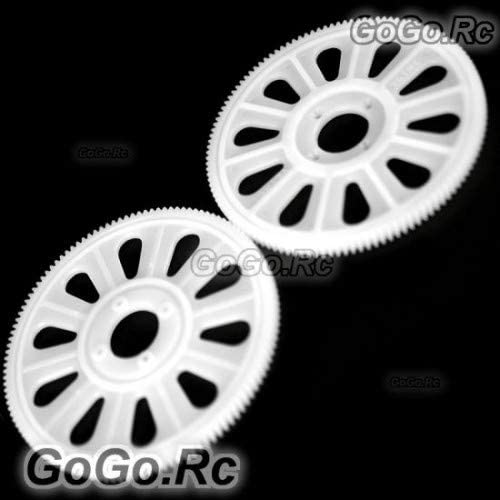 GoGoRc New Slant Thread Main Max 88% OFF Drive Gear for x2 He T-Rex 450 121T Ranking TOP19