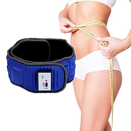 Elektrische Massagegürtel Vibration Gewichtsverlust Massage 5 Motoren Abnehmen Massage Gürtel für Hüft-, Rücken- und Bauchbereich