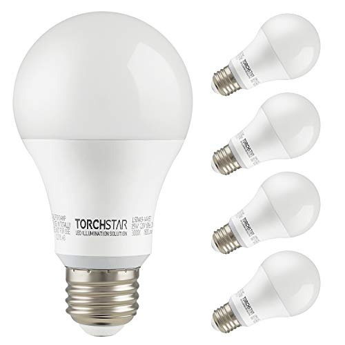 TORCHSTAR 15W Garage Door Opener LED Bulb, 100W Equivalent LED A19 Light Bulb, 1600lm...