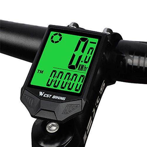 POHOVE Inalámbrico Bicicleta Ordenador, GPS Ordenador para Bicicleta, Ciclismo Impermeable Cuentakilómetros Y...