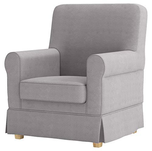 Custom Slipcover Replacement Ektorp Jennylund Abdeckung ist nach Maß für IKEA Jennylund Stuhl. Ein Ikea Sessel Sofa Slipcover Baumwolle Hellgrau