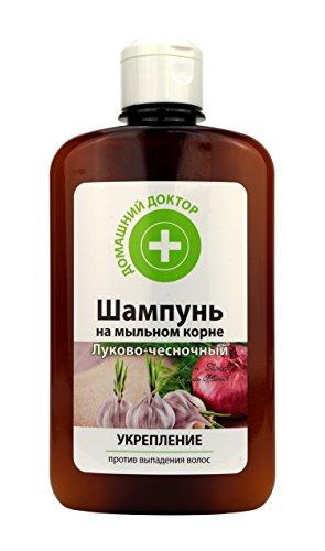 Shampoo Zwiebel-Knoblauch Домашний докторШампунь луково-чесночный