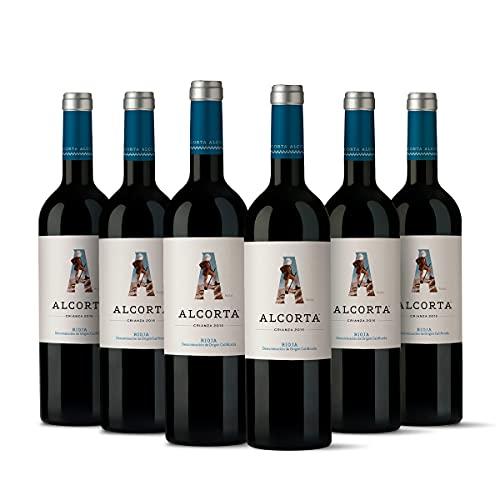 Alcorta Audaz Crianza Pack 6 botellas D.O.Ca Rioja Vino - 750 ml