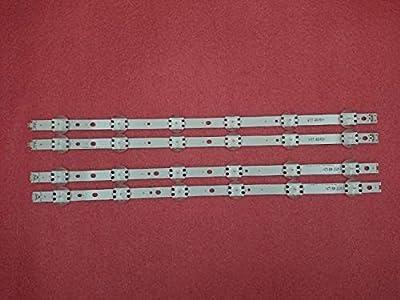 Miwaimao 4 PCS/Set LED Strip For LG 49UV340C 49UJ6565 49UJ651V 49UJ670V 49UJ701V V17 49 R1 L1 ART3 2862 2863 6916L-2862A 2863A