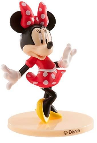 Dekora- Decoracion para Tartas Minnie Mouse de PVC con una Pose de Auténtica Figura del Cine y Televisión, Multicolor (347174)