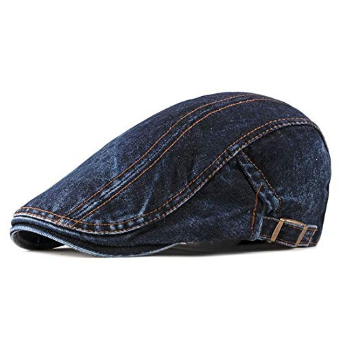 Boina Estilosa Italiana Ajustável Outono Inverno Jeans Xthree (2)
