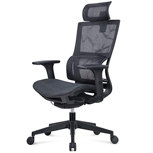 Sillas de escritorio Silla de oficina ejecutiva con ajuste de altura de reposacabezas ajustable y función de inclinación para la silla de juego de la silla de escritorio de trabajo de oficina Para rec