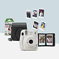 instax mini 11 ice white camera bundle - Amazon Exclusive