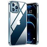 TORRAS Diamond Series Hülle Kompatibel mit iPhone 12 Pro Max, Vergilbungsfrei Durchsichtig...