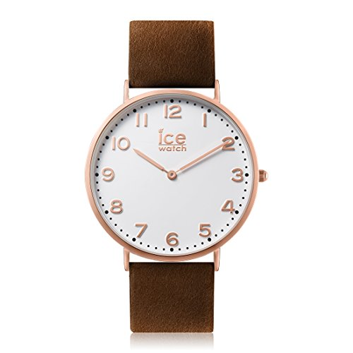 Ice-Watch - CITY Whitechapel - Men's (Unisex) wristwatch with leather strap - 012823 (Small)